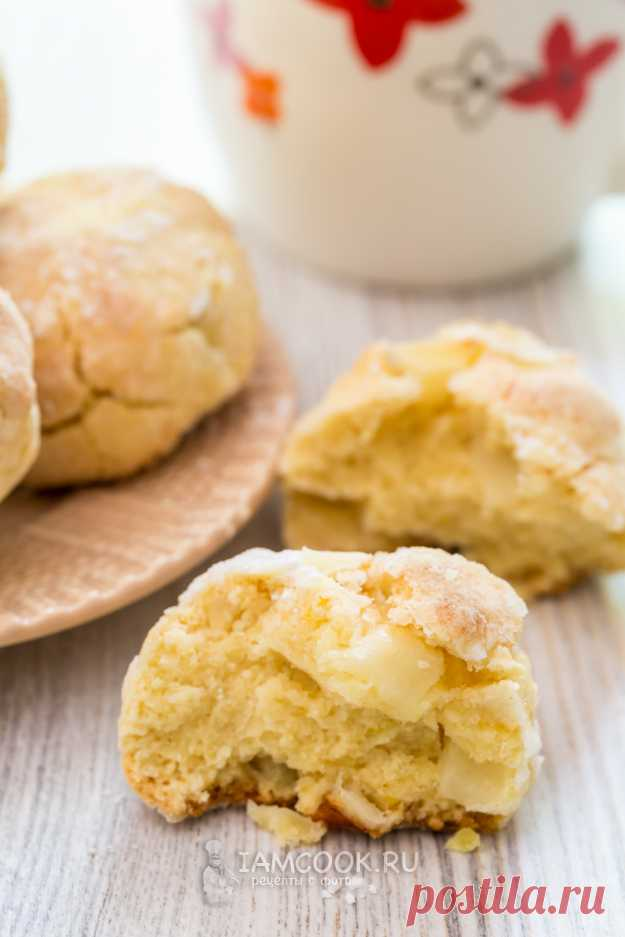 Мягкое печенье с яблоками (итальянское) — рецепт с фото пошагово + отзывы