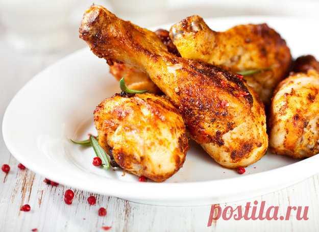 Какие приправы лучше использовать при приготовлении курицы - KitchenMag.ru