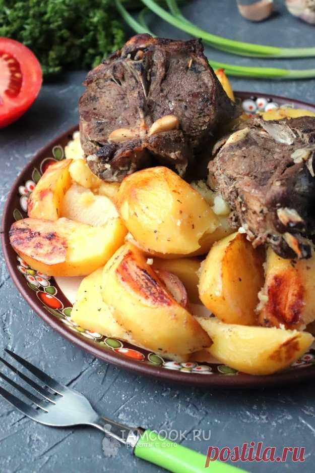 Козлятина в духовке с картошкой — рецепт с фото на Русском, шаг за шагом. #рецепт #козлятина #обед #ужин #еда