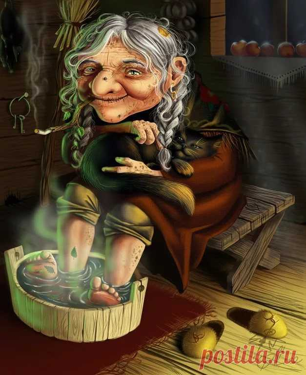 Смешные рисунки с бабулями