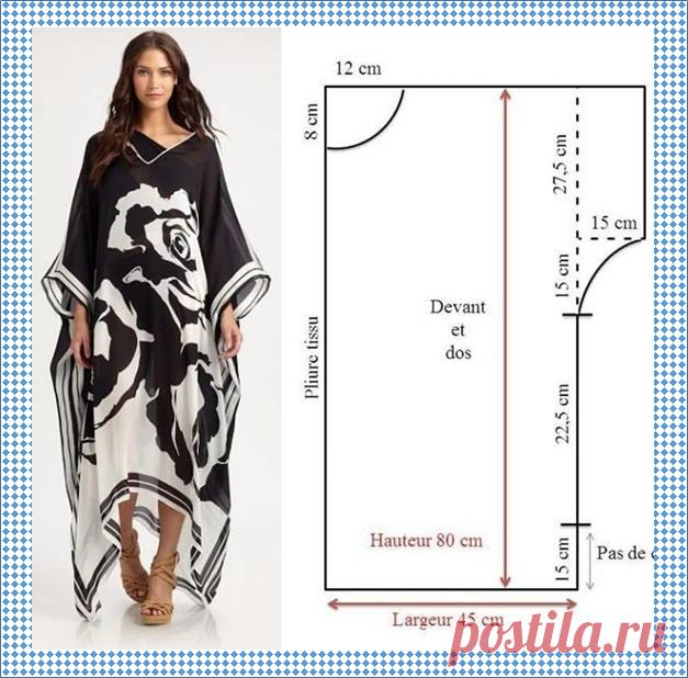 Платье свободного кроя - 5 моделей со схемами выкроек и 30 моделей для примера   МНЕ ИНТЕРЕСНО   Яндекс Дзен
