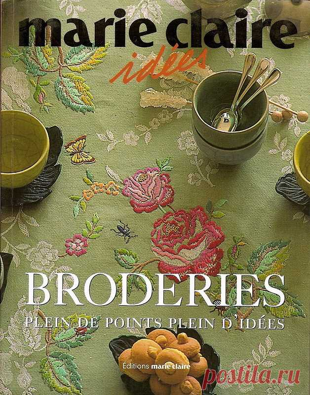 Marie Claire Idees: Broderies Plein de points Plein d'idees - the Embroidery (miscellaneous) - Magazines on needlework - the Country of needlework