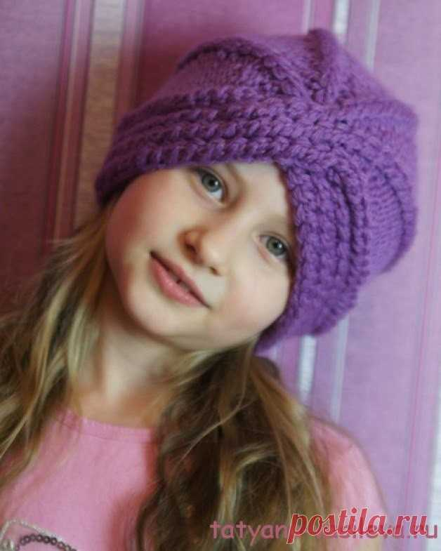 KNITTED TURBAN (Knitting by spokes)   Inspiration of the Needlewoman Magazine