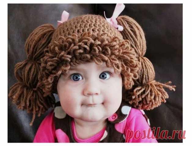 необычные детские шапочки вязание крючком детская одежда крючком