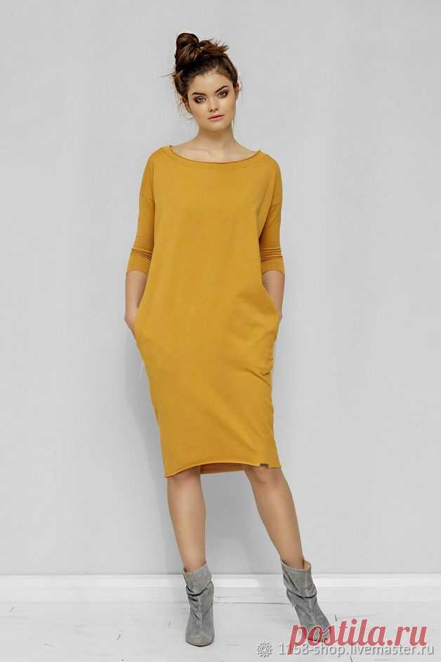 Выкройка платья-кокона Модная одежда и дизайн интерьера своими руками
