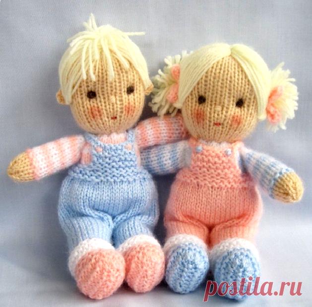Вязаные куклы с описанием и схемами. | вязание... | Постила