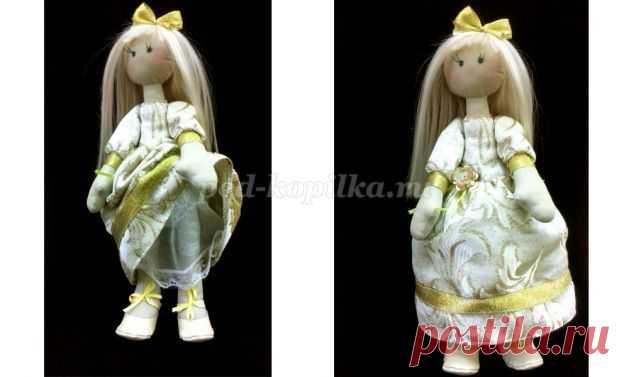 Новогодняя кукла Тильда своими руками. Выкройки. Мастер-класс