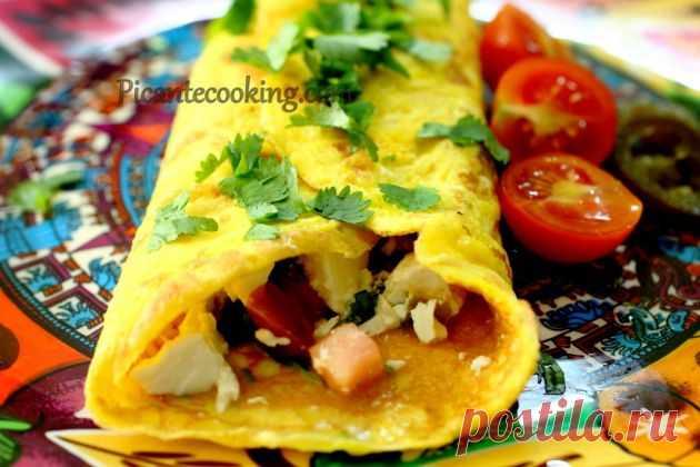 Picantecooking: Омлет в мексиканском стиле.