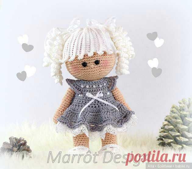 Очаровательная куколка - схема вязания игрушки Marrot Design / Схемы вязания игрушек / Бэйбики. Куклы фото. Одежда для кукол