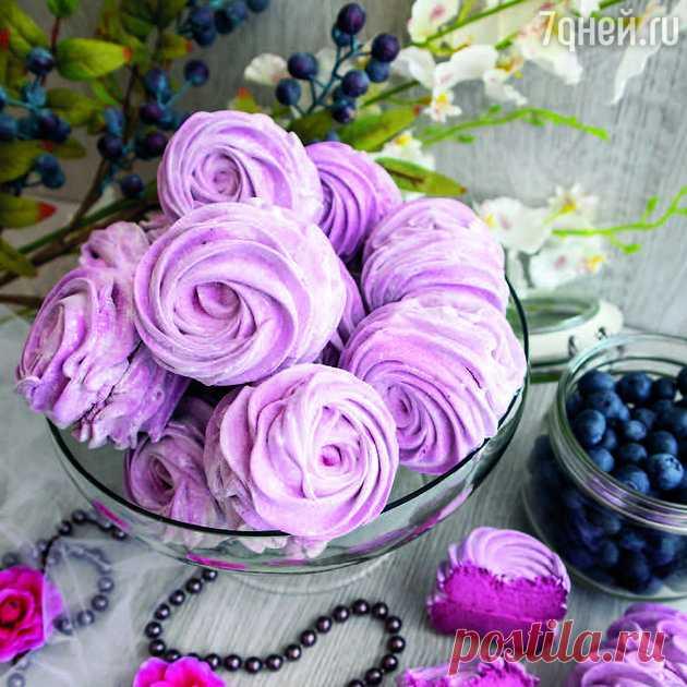 Черничный зефир с агар-агаром: классический рецепт: пошаговый рецепт c фото