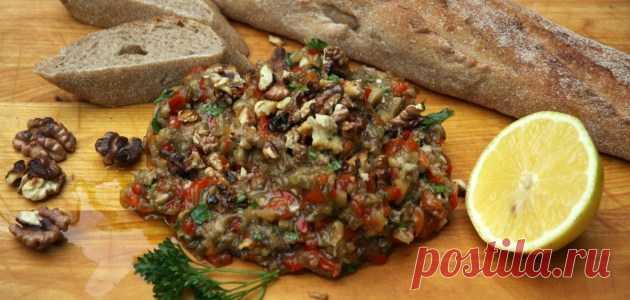 Греческий салат с баклажанами и грецкими орехами - БУДЕТ ВКУСНО! - медиаплатформа МирТесен