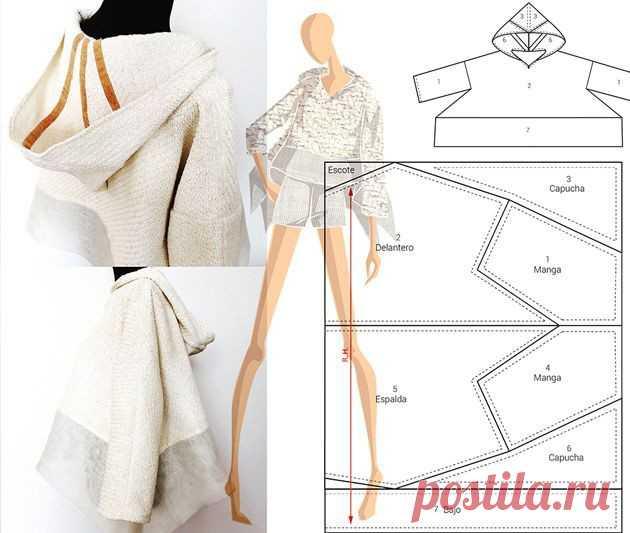 Подборка безотходного кроя одежды Модная одежда и дизайн интерьера своими руками