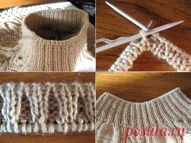Master classes in knitting by a hook and spokes