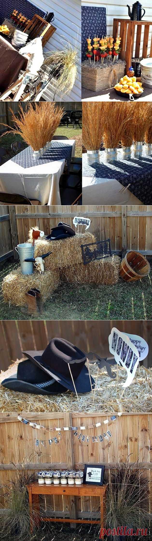 Маленькие партии Cowboy {} Опция гость - Праздники дома