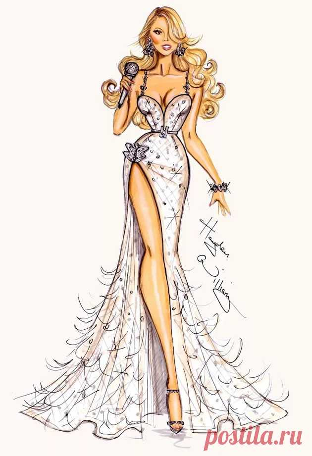 Картинки дизайнеров рисунки модной одежды, картинки открытки наступающим