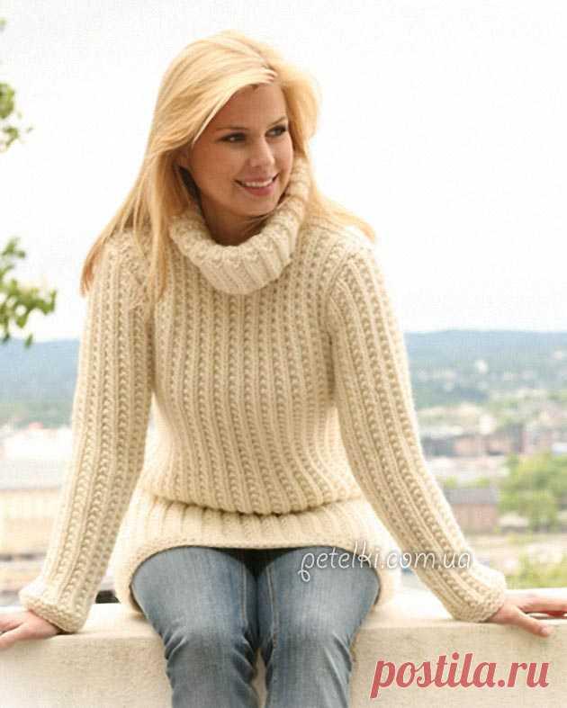 Теплые свитера и пуловеры со схемами » Страница 7