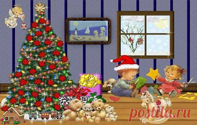 New Year's candies for children | we Prepare houses