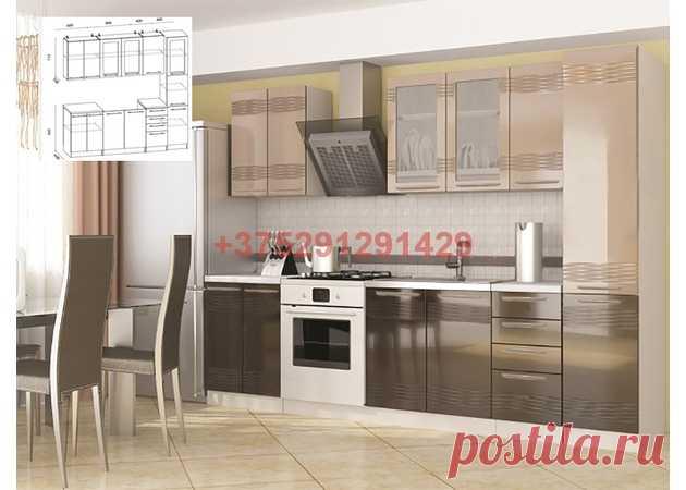Кухня Олива МОККО  (с пеналом) 2,2 м : купить в Минске недорого, низкие цены, скидки, рассрочка