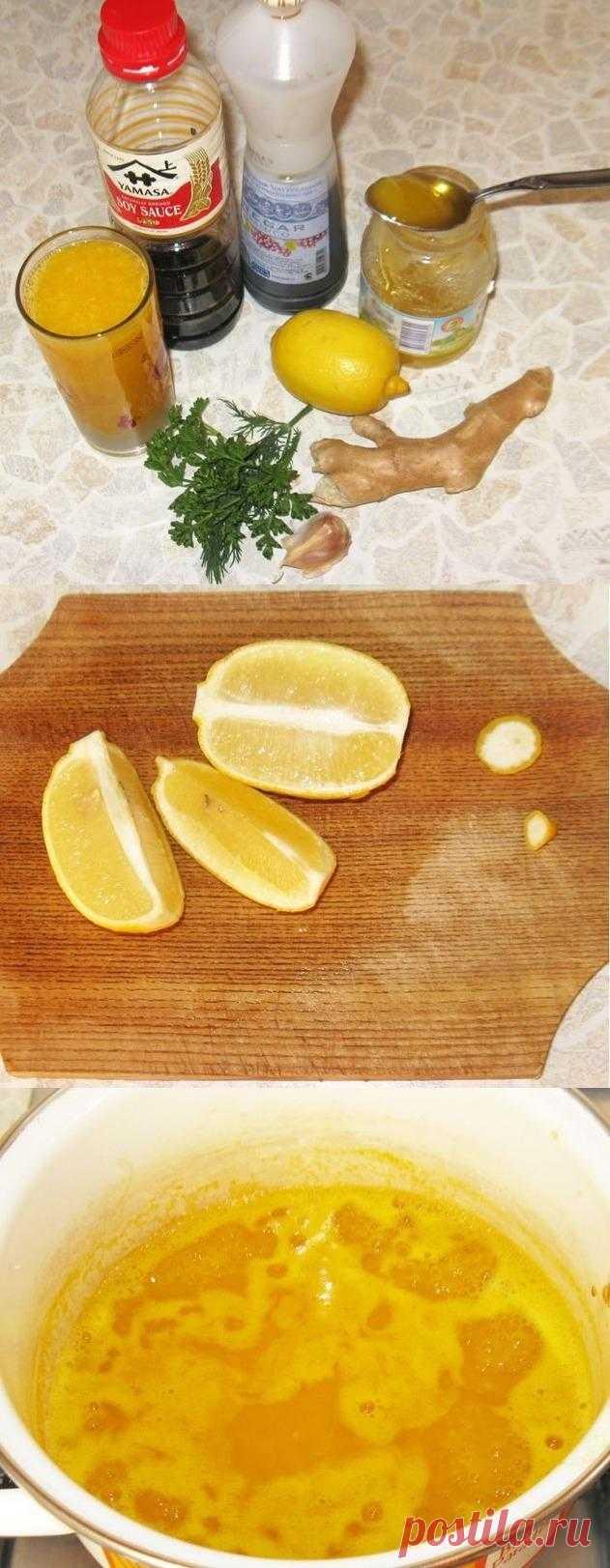 Интересный соус к рыбе – апельсиновая сальса
