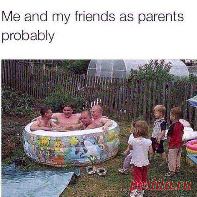 Me and my friends as parents probably  #funny #memes #girls #boys #friends #gagbee