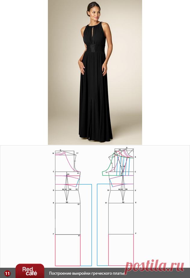Шьем вечернее длинное платье выкройки и фото