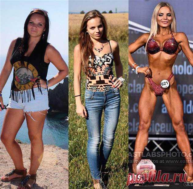 Анорексичка весом 40 кг изменилась благодаря спорту ( 15 фото ) | Краше Всех