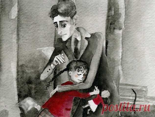 Верьте,и всё будет хорошо ️ Реальная история простого человеческого ДобраЖивя в Берлине, Франц Кафка каждый день прогуливался по парку. Там он однажды встретил маленькую девочку, которая потеряла куклу и громко плакала. Кафка предложил ей помочь в поиске и встретиться на том же месте на следующий день. Куклу знаменитый писатель, конечно,не нашел.Но зато принес написанное им от ее лица письмо. «Пожалуйста, не огорчайся моему отсутствию, — зачитывал вслух Франц. — Я уехала в...