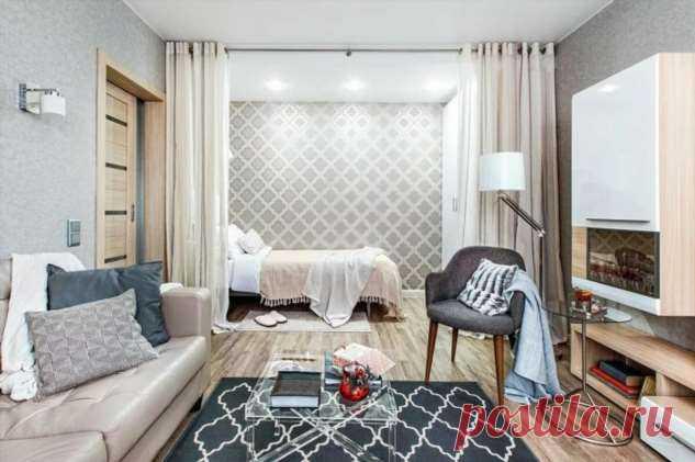 Как обустроить маленькую квартиру без перепланировок и сноса стен . Милая Я