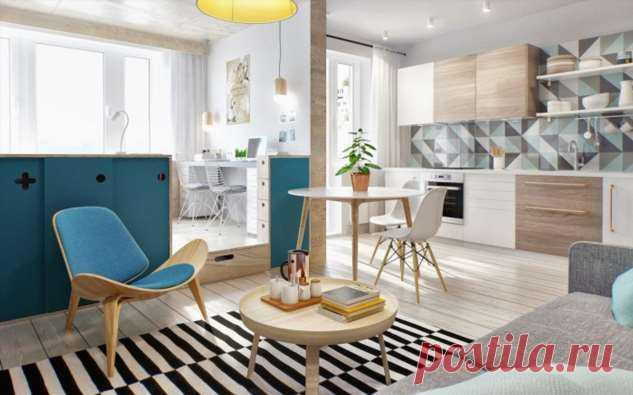 Малогабаритная квартира: как сделать ее уютной и функциональной . Милая Я