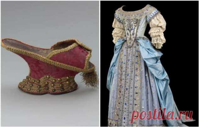 Два платья вместо одного: 7 интересных фактов о моде 17 века . Милая Я