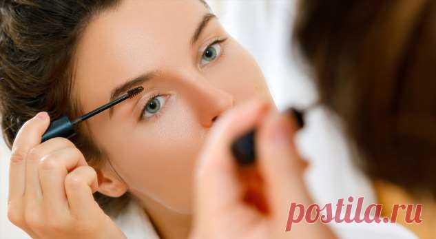 Совет визажиста: как рисовать брови, которых нет? . Милая Я