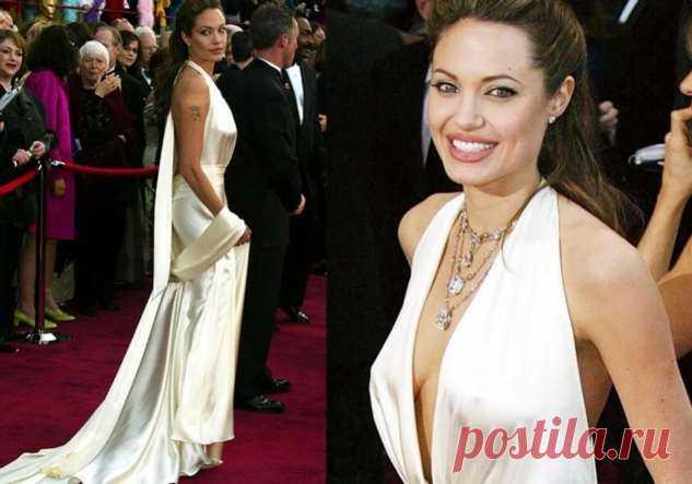 Четыре вечерних платья Анджелины Джоли, после которых о ней заговорили, как об иконе стиля | Офигенная