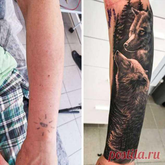 25+ татуировок, которые по реализму не уступят полотнам художников . Милая Я