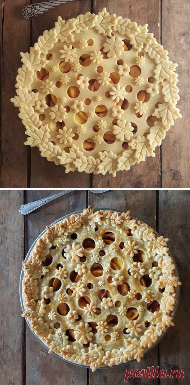 Пожалуй, это самые красивые пироги, которые нам доводилось видеть