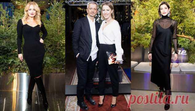 Ксения Собчак, Виктория Шелягова и Аня Чиповская на открытии бутика Jaeger-LeCoultre в ГУМе | Офигенная