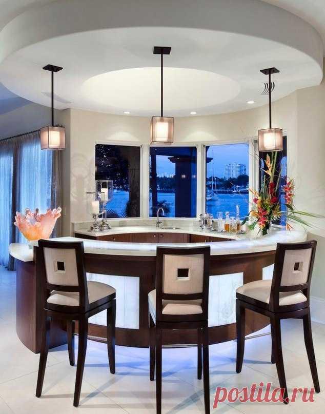 Барные стойки в интерьере - Дизайн интерьеров   Идеи вашего дома   Lodgers
