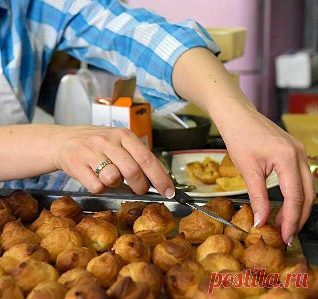 Как приготовить вкусные профитроли, которые всегда получаются - мои правила!   Рецепты и советы - Мария Сурова   Яндекс Дзен