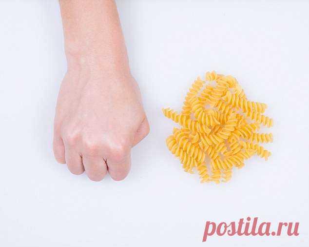 Определяемся с размером порции продуктов для правильного пищеварения
