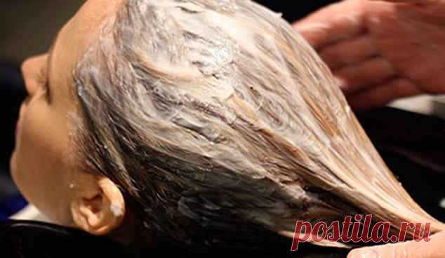 Masks from a hair loss in house conditions.
