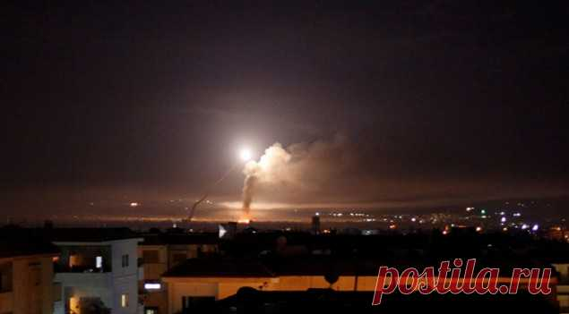 Israel struck airstrikes on objects of \