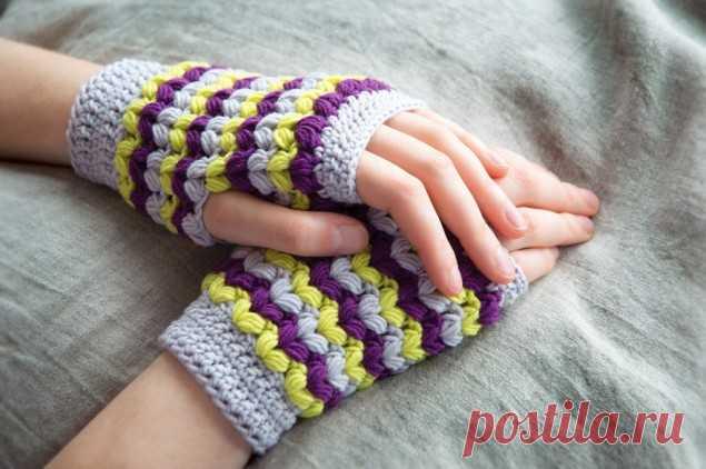 митенки своими руками 5 оригинальных идей митенки перчатки без