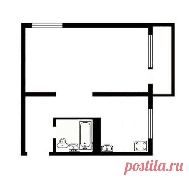 Муж и жена превратили санузел 2.8 кв.м. в хрущевке в красивый и современный До и после