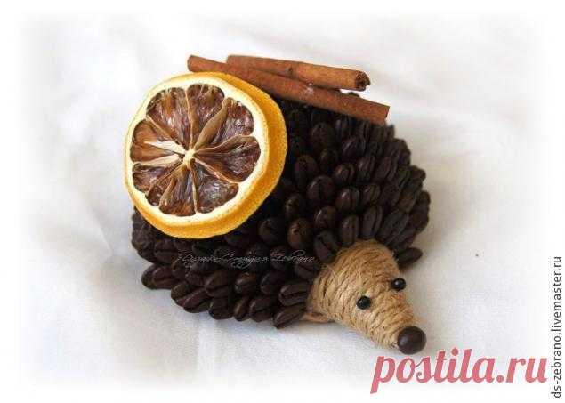 Fragrant coffee hedgehogs