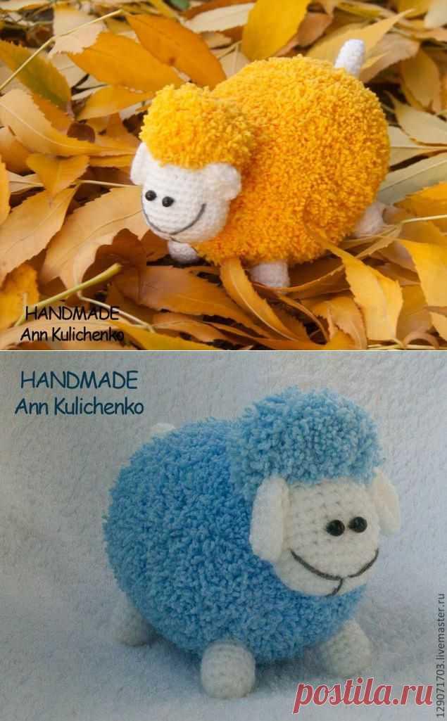Схема вязания овечки - Ярмарка Мастеров - ручная работа, handmade