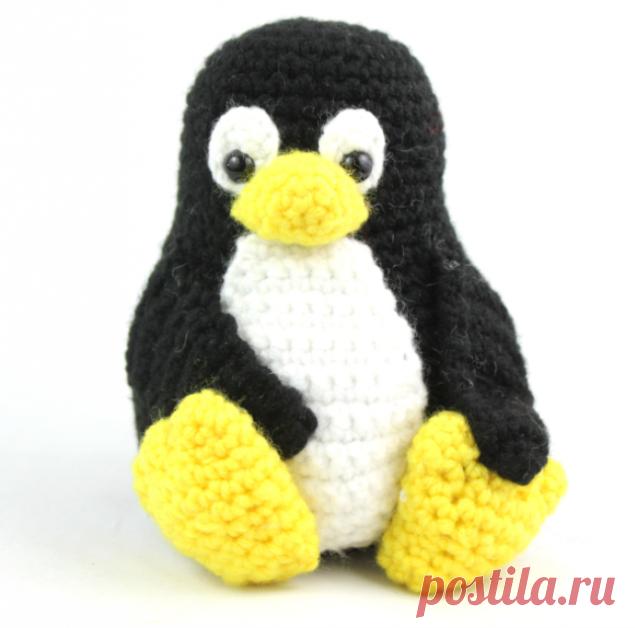 Как связать пингвина крючком - 5 мастер-классов
