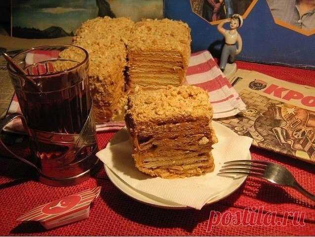 Как приготовить торт из печенья без выпечки. - рецепт, ингредиенты и фотографии