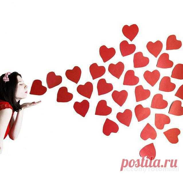 сердечки с поцелуями картинки видеть