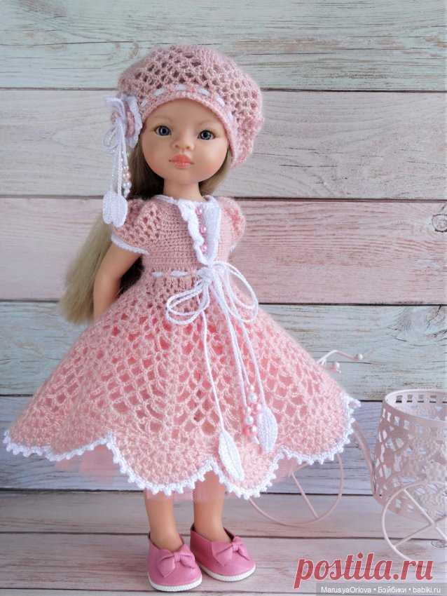 Вязаная нежность из мохера / Одежда и обувь для кукол своими руками / Бэйбики. Куклы фото. Одежда для кукол
