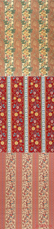 Текстурные фоны для декупажа. Текстиль в полосочку.