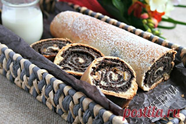 Сafe Iryna: Пирог с маковой начинкой